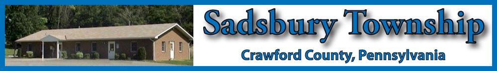 Sadsbury Township/Crawford County, PA